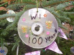 Photograph of W.I. Christmas Tree Decoration.